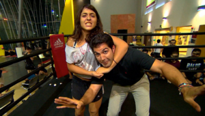 ولدت في لبنان ونشأت في السعودية وتعيش في الإمارات.. المصارعة العربية الوحيدة تحطم الحواجز