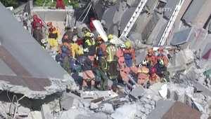 بالفيديو: زلزال تايوان ضحاياه 20 قتيلا والبحث جارٍ عن أكثر من 70 مفقودا