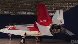 اليابان تصنع أول طائرة شبح مقاتلة