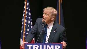 ترامب يكرر كلمة نابية قالتها سيدة بحق كروز أمام حشد لمؤيديه