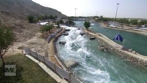 شاهدوا أطول نهر صناعي في العالم.. وسط رمال الإمارات!