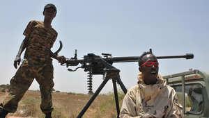 جنود من القوات الصومالية