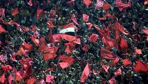 جماهير النادي الأهلي في مباراة سابقة
