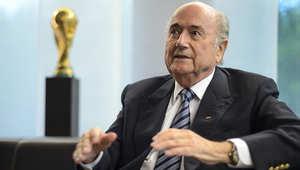 رئيس الحاد الدولي لكرة القدم سيب بلاتر