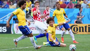 فوز البرازيل على كرواتيا في اول مباراة في كأس العالم 2014 Brazil.croatia