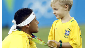 البرازيل تتوج بالذهب الأولمبي للمرة الأولى بتاريخها
