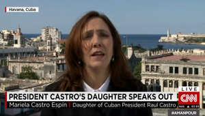 بأول مقابلة تلفزيونة.. ابنه الرئيس الكوبي تبدي لـCNN موقفها من الاتفاق مع أمريكا: لابد من دور قام به فيديل كاسترو