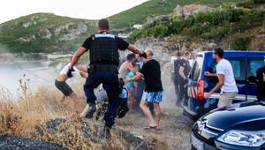 محاكمة مغاربة وفرنسيين بسبب أعمال عنف على شاطئ بجزيرة كورسيكا
