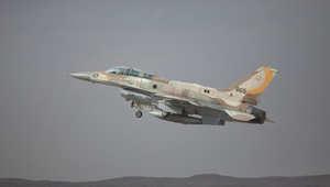 صورة ارشيفية لطائرة مقاتلة إسرائيلية