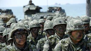 مناورات أمريكية كورية تعيد التوتر.. وطوكيو تتأهب لصواريخ بيونغ يانغ
