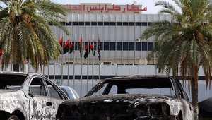 كتائب تطلق عملية جديدة لاقتحام مطار طرابلس والحكومة تدرس طلب قوات دولية