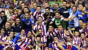 اتليتيكو مدريد يطيح بالريال ويتوج بلقب السوبر الإسباني