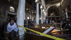 شاهد.. الوقائع المعلنة عن تفجير الكاتدرائية العباسية في القاهرة