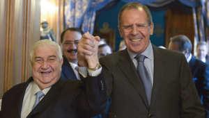 المعلم يكشف الإعداد للضربات الروسية في سوريا
