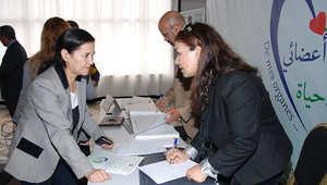 جانب من دورة توعوية بالتبرع بالأعضاء في المغرب