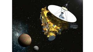 أول مركبة في أطراف نظامنا الشمسي ترسل صوراً ملونة لبلوتو