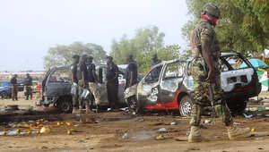 صورة أرشيفية لتفجير سابق في نيجيريا