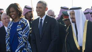 محللة أمريكية: أوباما تعمد اصطحاب زوجته إلى السعودية للوقوف دون غطاء رأس أمام الملك وأفراد عائلته.. والسعوديات فرحات