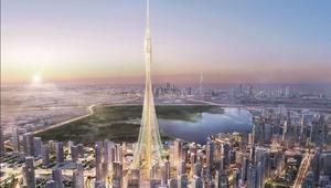 شاهد محمد بن راشد يطلق بناء أطول برج في العالم