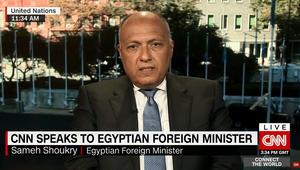 بعد انتشال مصر لـ162 جثة.. شكري لـCNN: حادث مؤسف