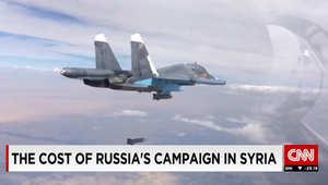 محللة تبين لـCNN كلفة عمليات روسيا بسوريا: موسكو لن تتحمل أكثر من 4 أشهر.. إطلاق صواريخ كروز كلف 30 مليونا.. و500 مليون لبناء القاعدة عدا التكلفة اليومية