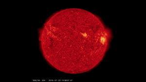ناسا ترصد انفجارات هائلة على سطح الشمس