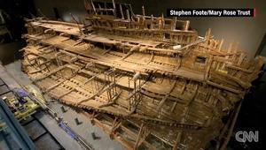 سفينة هنري الثامن تظهر بعد عملية ترميم استغرقت 34 عاماً