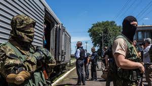 التوتر في  أوكرانيا يثير مخاوف من إعادة إحياء الحرب الباردة