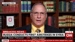 بيتر منصور المحلل العسكري بـCNN يبين استراتيجية روسيا في سوريا ولماذا تستهدف كل الجماعات المقاتلة باستثناء داعش؟