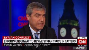 فواز جرجس لـCNN: تقارير تبين كيف ينوي الجيش السوري السيطرة على حلب.. وسياسة واشنطن معتمدة على بوتين