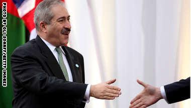 وزير الخارجية الأردني ناصر جودة - صورة أرشيفية
