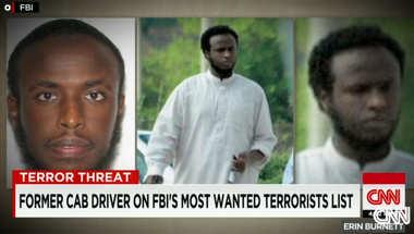 الـFBI يضع سائق سيارة أجرة سابق في واشنطن بقائمة أكثر الإرهابيين المطلوبين