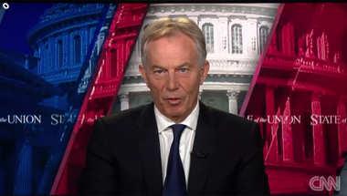 توني بلير لـCNN: لابد من ضرب داعش برا والسؤال هل يمكن للعراقيين القيام بذلك أم سنقوم بذلك نحن؟
