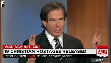 محلل شؤون الأمن القومي يفسر لـCNN سبب إطلاق داعش لسراح 19 محتجزا مسيحيا: صورة نادرة لاتباع التنظيم حكم الشريعة