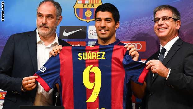 اجمل صور لويس سواريز مع نادي برشلونه luis suarez Barcelona