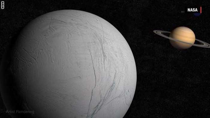 ناسا تبحث عن آثار حياة على قمر زحل!