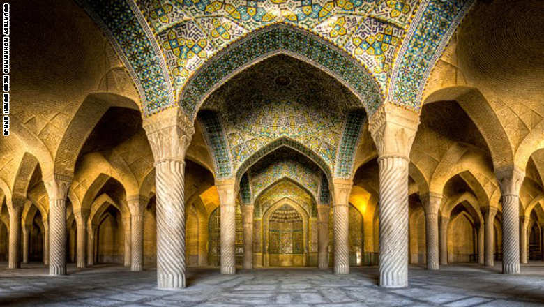 بالصور..أجمل المساجد في إيران