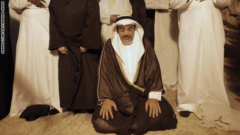 نائب رئيس الوزراء وزير الخارجية الكويتي صباح الخالد الصباح يؤدي الصلاة في مسجد قبة الصخرة في الحرم القدسي 14 سبتمبر/ أيلول 2014
