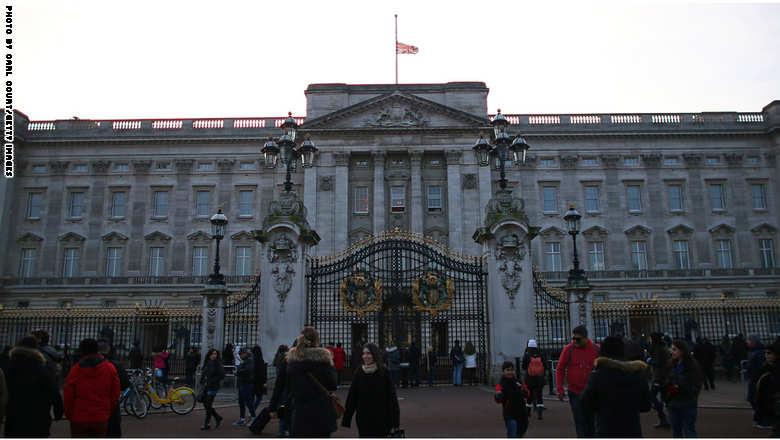 الحداد في لندن