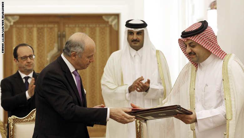 قطر على وشك شراء 36 مقاتله رافال من فرنسا  472121026