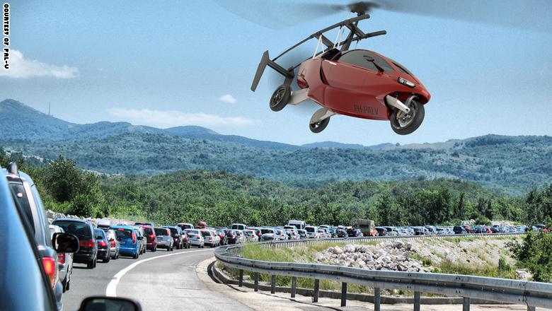 الخيال العلمي يتحقق..سيارات طائرة لتخفيف الإزدحام المروري
