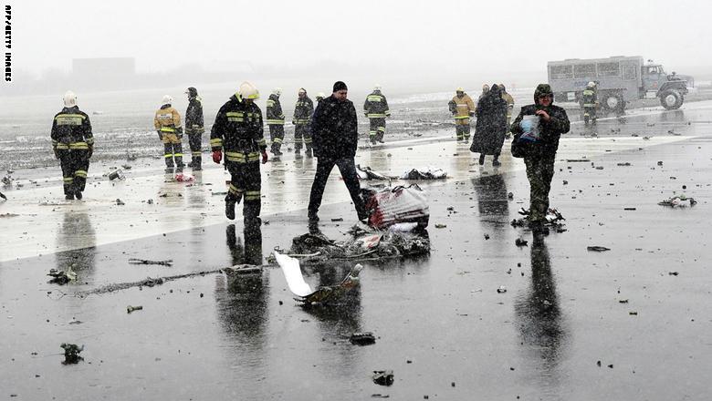 مقتل 62 شخصا في تحطم طائرة ركاب لشركة فلاي دبي جنوبي روسيا GettyImages-516470024