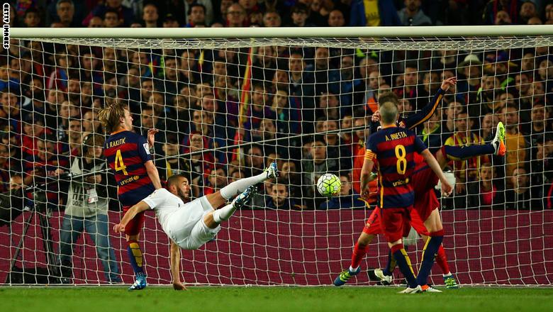 زيدان يقود ريال مدريد لقهر برشلونة في أول كلاسيكو له