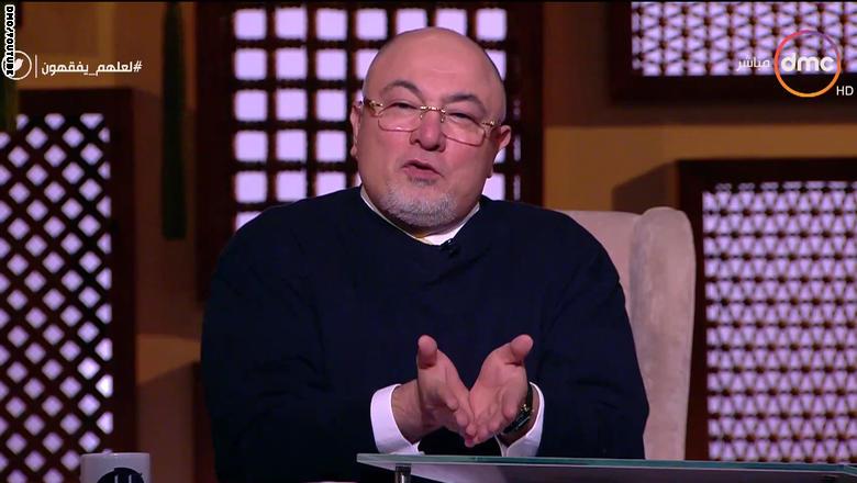 خالد الجندي: الخمر ليست نجسة ومن يشك فليسأل أبو حنيفة