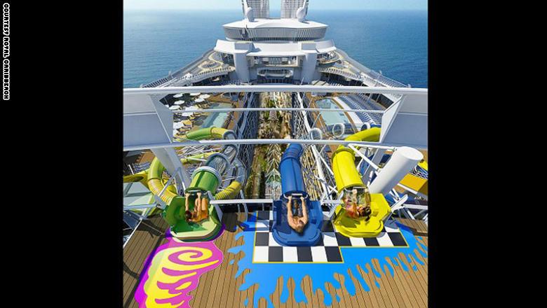 بالصور...عالم من الترفيه على متن أضخم سفينة في العالم
