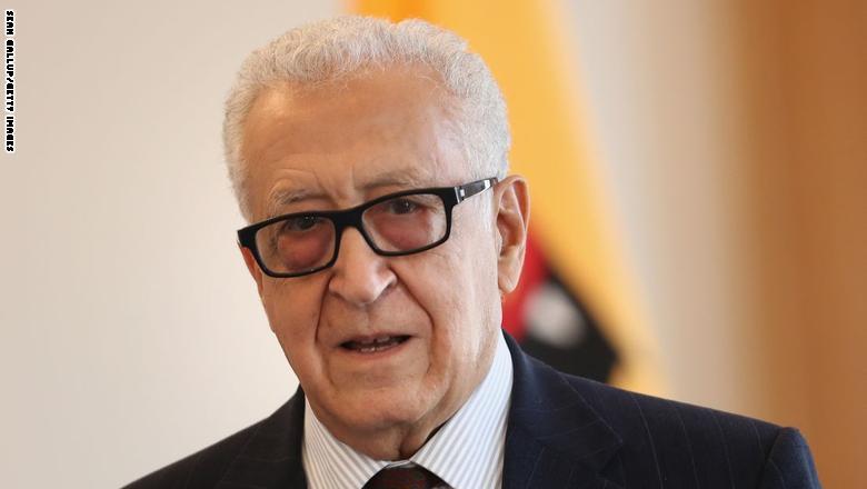 الإبراهيمي يدعو لفتح الحدود بين الجزائر والمغرب وقيام الاتحاد المغاربي Brahimi25