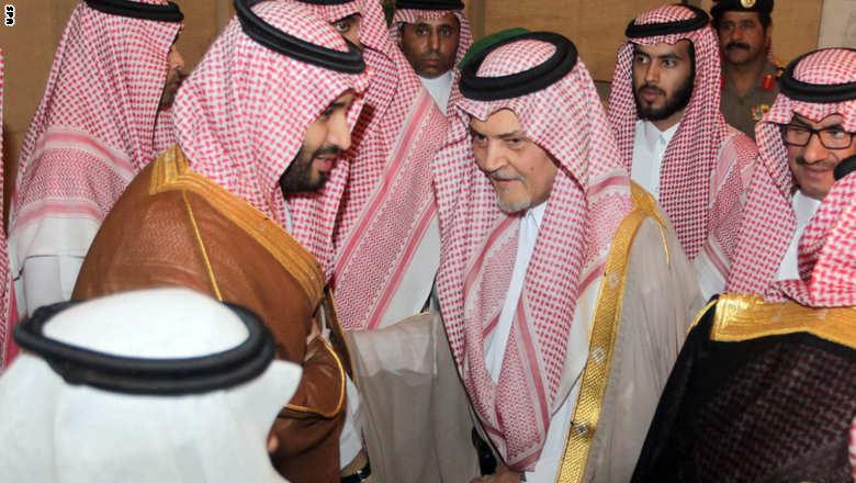 العاهل السعودي يعين محمد بن نايف وليا للعهد ومحمد بن سلمان وليا لولي العهد Saudi-faisal