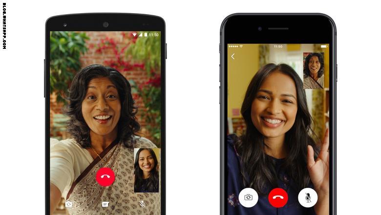 مع ميزات تعدد المهام والأمن.. واتساب يطلق ميزة مكالمات الفيديو