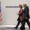 وزير خارجية إيران محمد جواد ظرف وممثلة السياسة الخارجية الأوروبية كاثرين أشتون في جولة مفاوضات سابقة 24 نوفمبر/ تشرين الثاني 2013