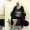 صورة لساجدة الريشاوي عرضها التلفزيون الأردني بعد اعتقالها، وقد حكم عليها بالإعدام في 21 سبتمبر/ ايلول 2006